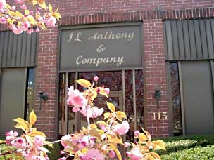 Spring blossoms at J.L. Anthony and Company