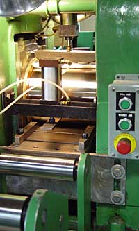 A rolling mill that delivers tight tolerances.
